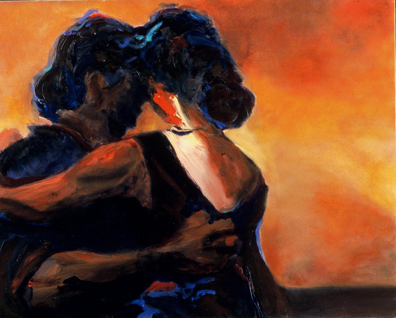 "Romance , 2003, oil canvas, 30 x 24"", SOLD"