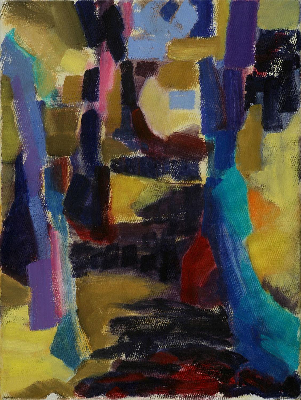 """Turquoise , 2010, 12 x 16"""""""