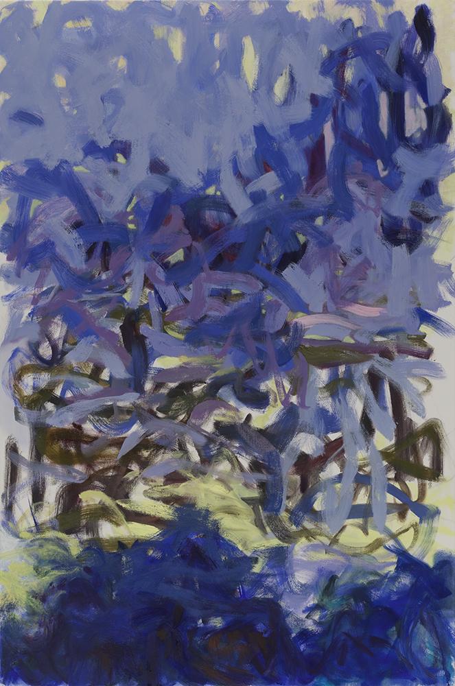 "Soon It's Gonna Rain , 2014, oil on canvas, 24 x 36"""
