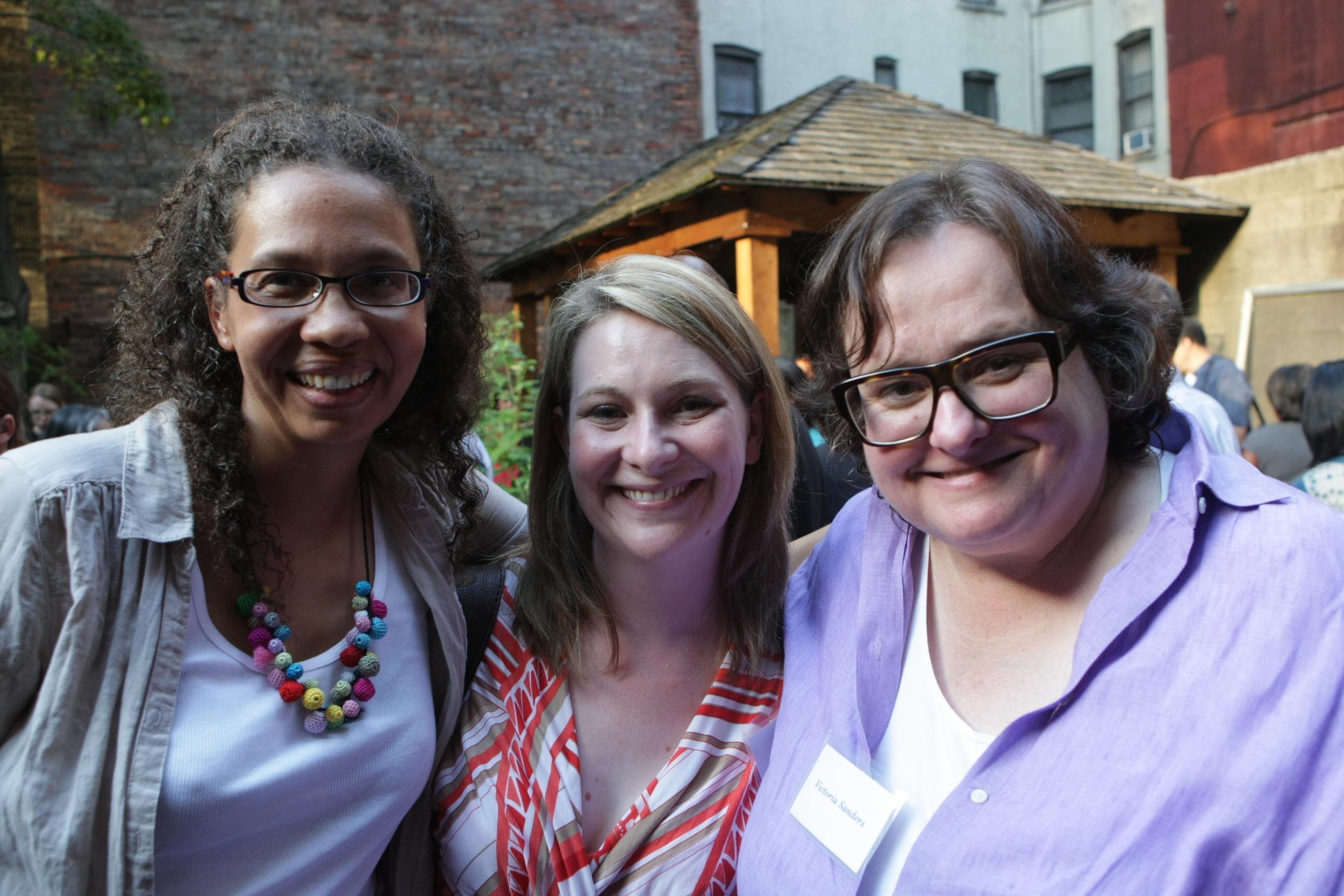 Tanya McKinnon, Bernadette Baker Baughman & Victoria Sanders