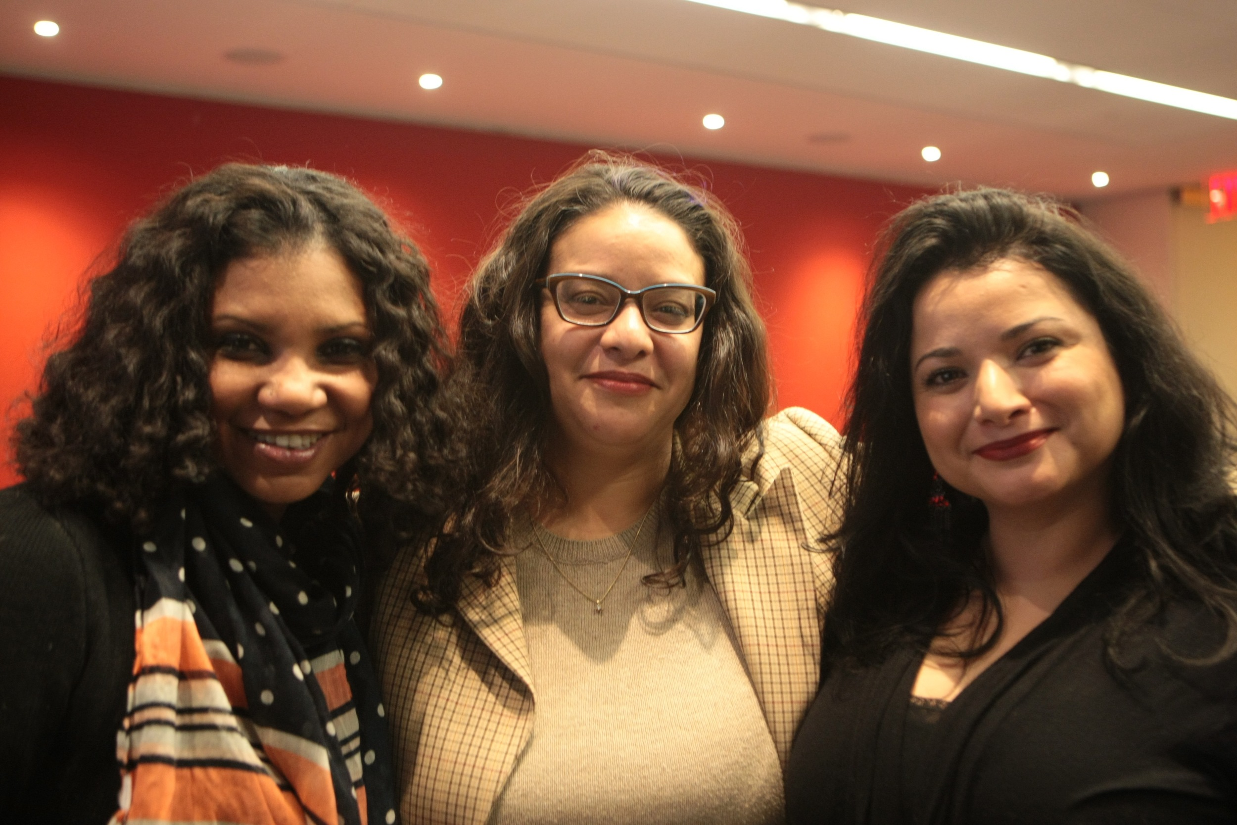 Nelly Rosario, Sheila Maldonado and Macarena Hernández