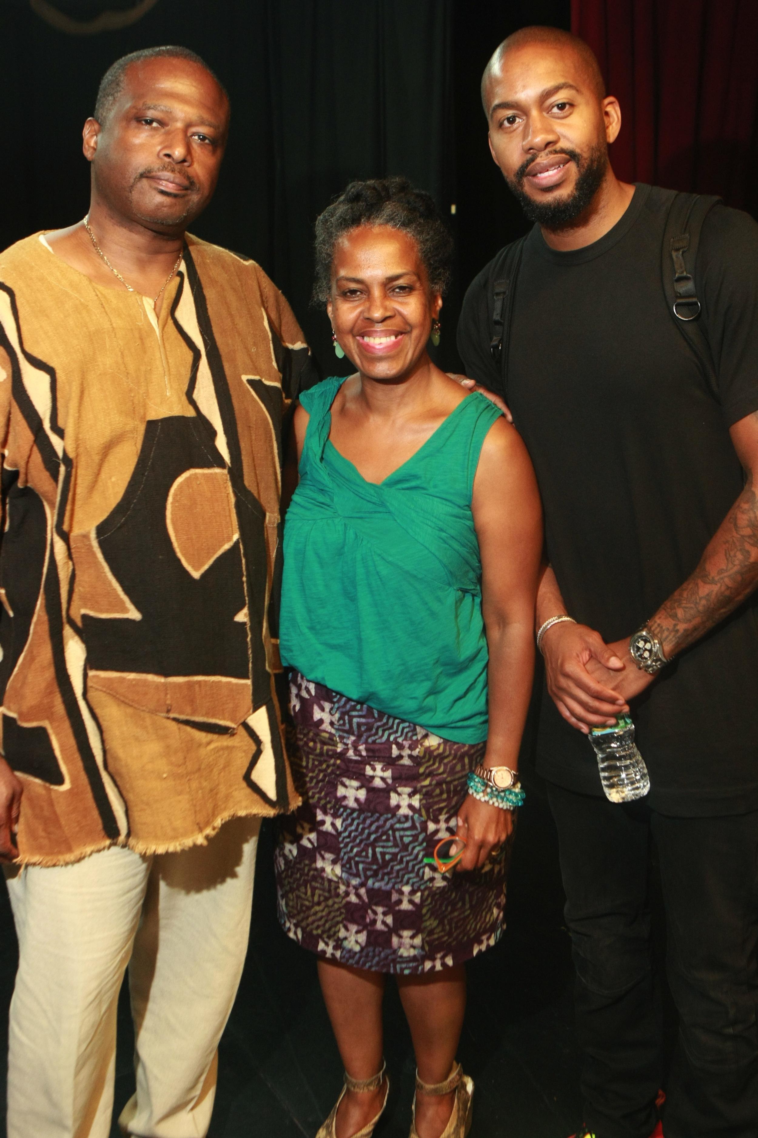 Jeffery Renard Allen, Malaika Adero and Mitchell S. Jackson