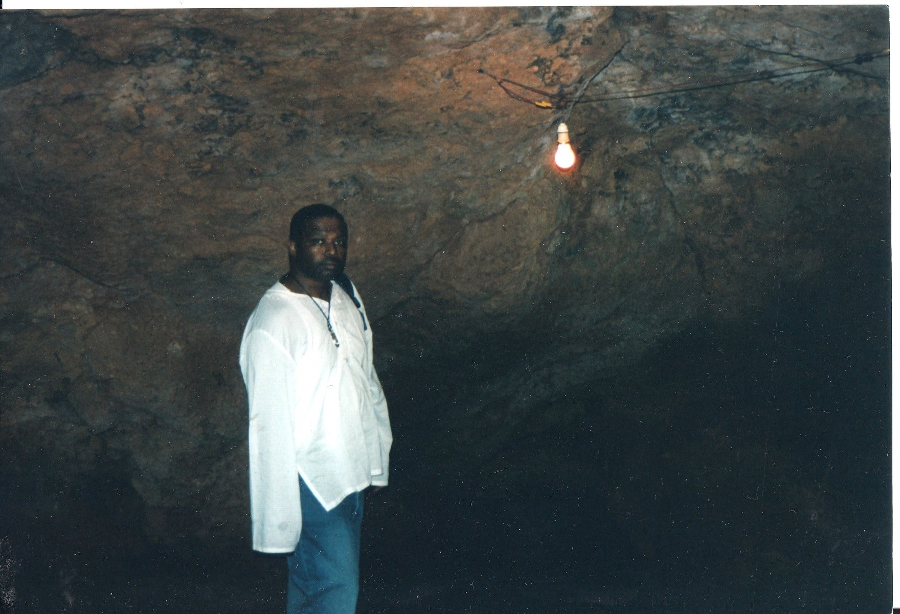 Cave in Kenya that Runaway Slaves Used as a Hiding Place