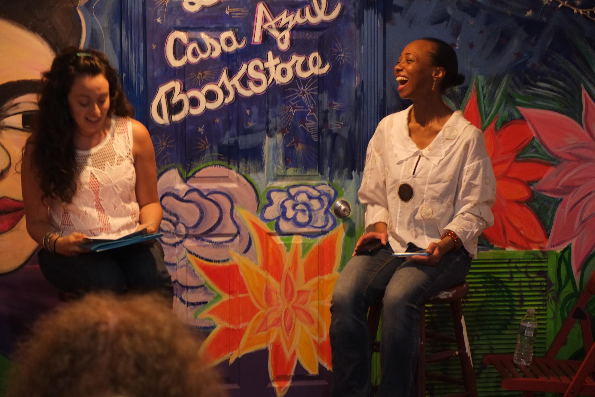 Jennine Capo Crucet and Laura Pegram