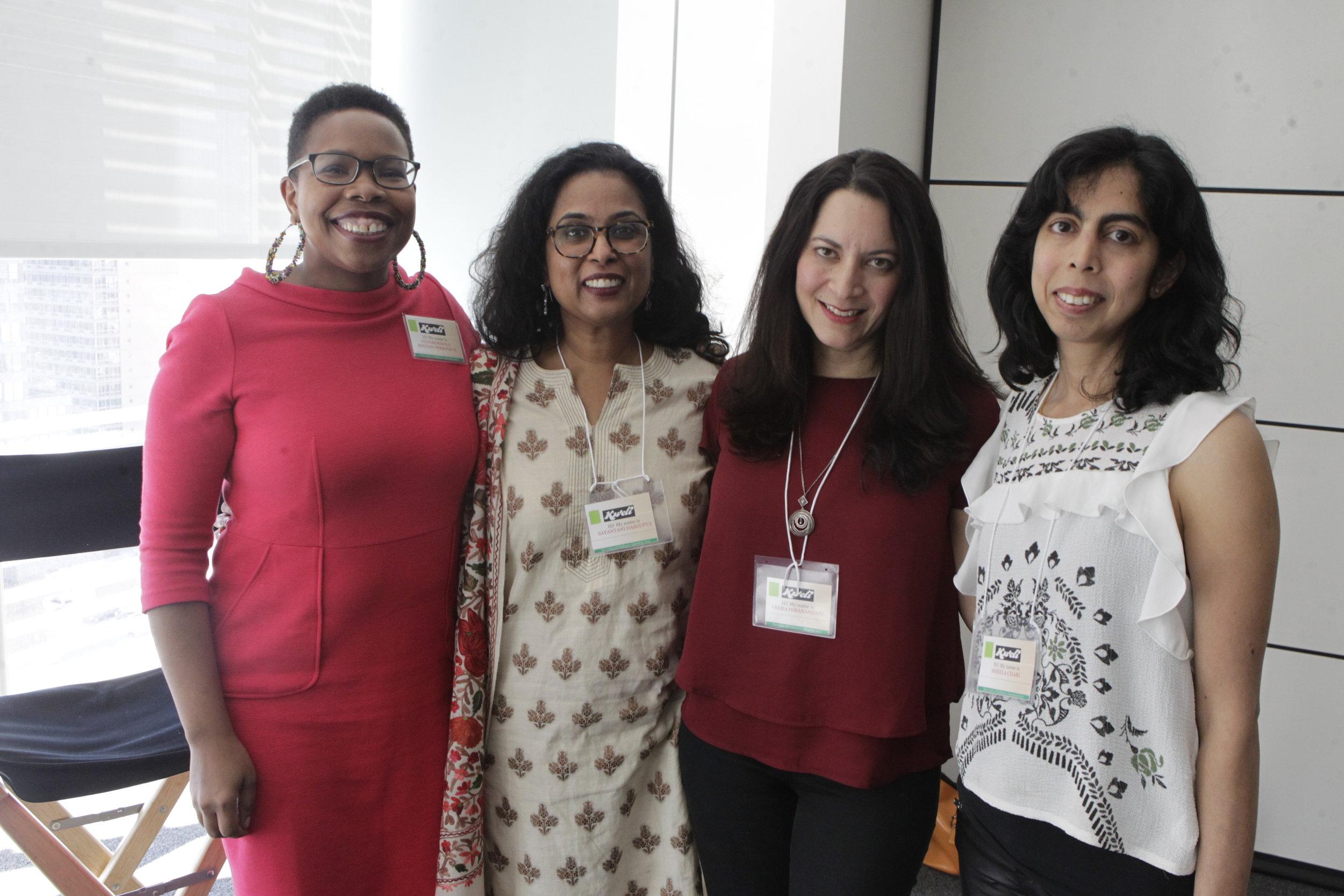 Authors Olugbemisola Rhuday Perkovich, Sayantani DasGupta, Veera Hiranandani and Sheela Chari