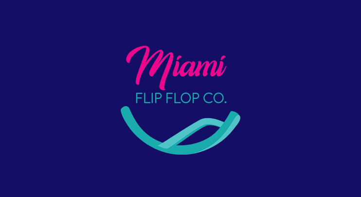 Logo Design - A client approached me with a request to design a logo for their sandal company in (you guessed it) Miami. They didn't have a vision for what the logo should look like, but they knew it had to have a fun and tropical vibe. Below I briefly explain what my process was like for the creation of this logo.