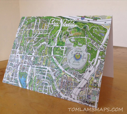 Echo Park greeting card