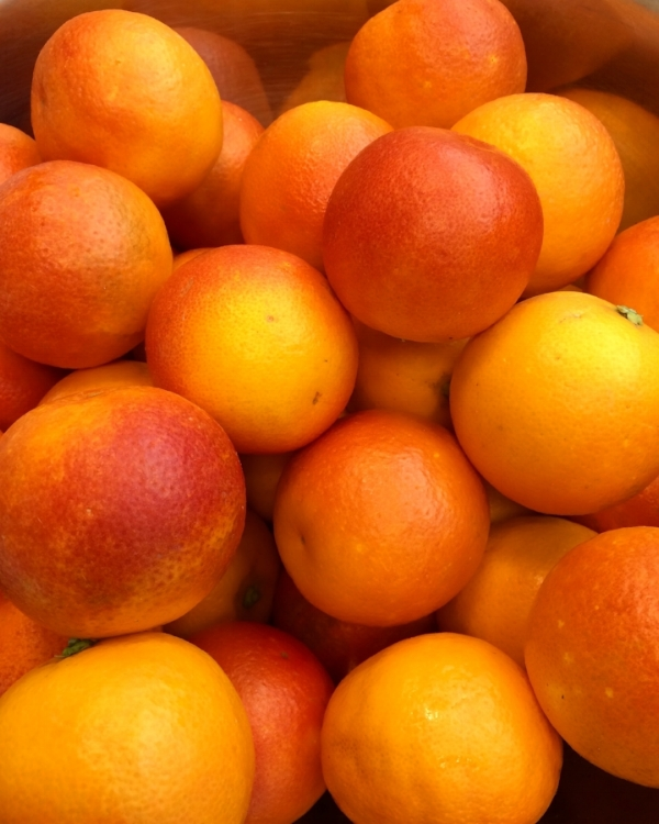 Moro Blood Oranges -- dainty and perfect