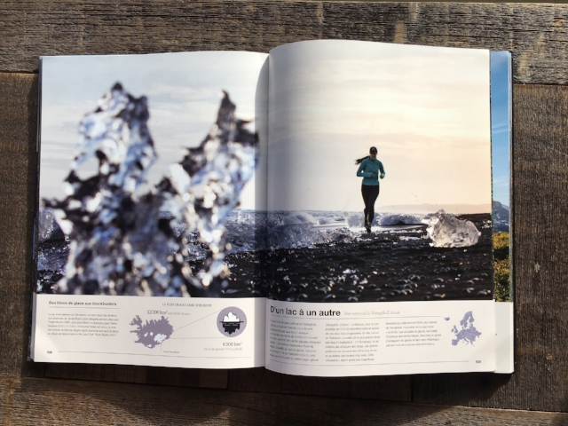 Photo by Tyler Roemer, published in COURIR, a French book on running, Dec. 2016