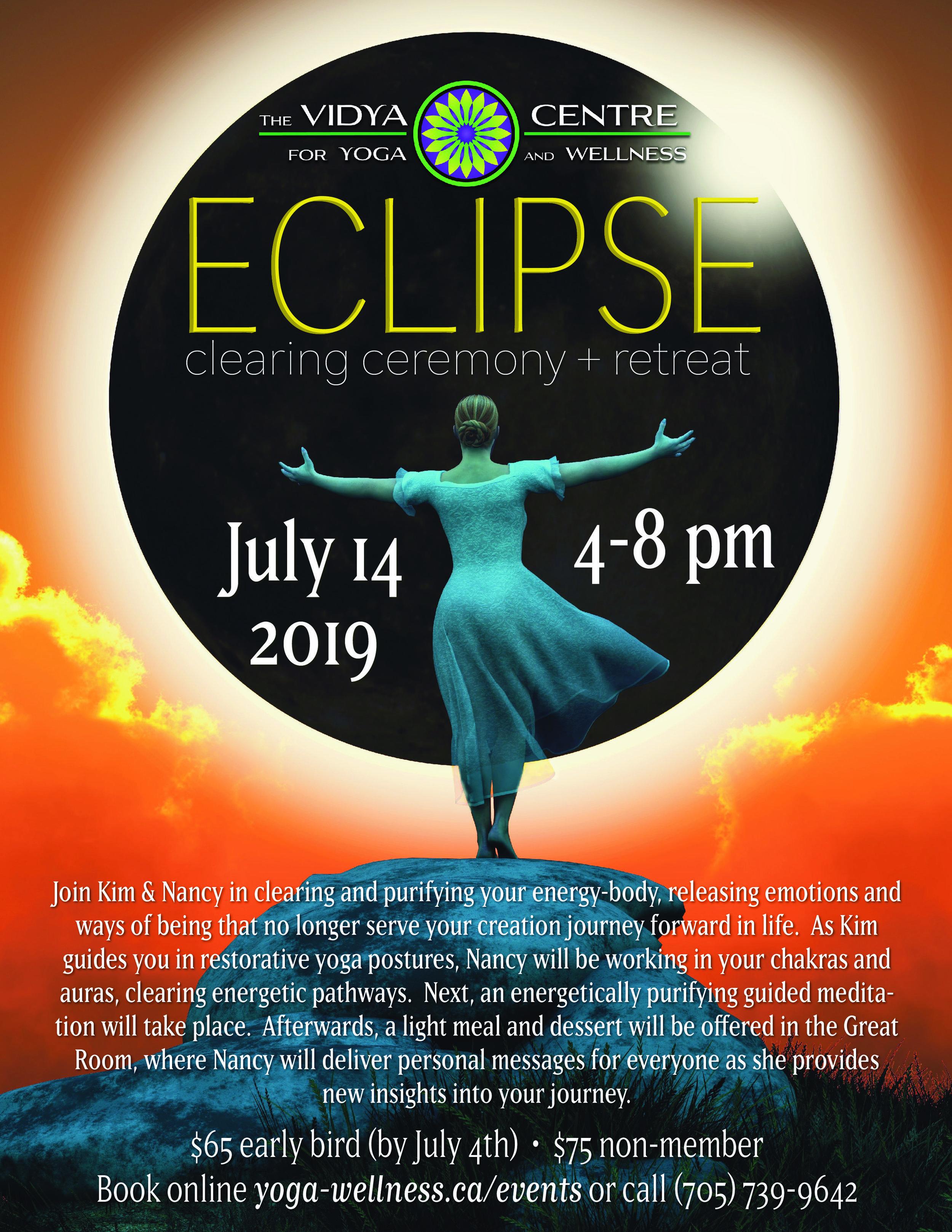 Day retreat with psychic astrologer Nancy Arruda and Yoga Teacher Kim Vidya