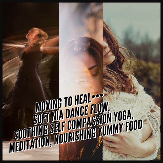 Day retreat includes 2 classes (Nia movement and Self Compassion Yoga) plus a delicious meal at Vidya's Veggie Gourmet!  To Register:  1.  Call  with credit card information  2.  Email  E-transfer  3. In person at our  Elixir Bar  (Wed-Sun)