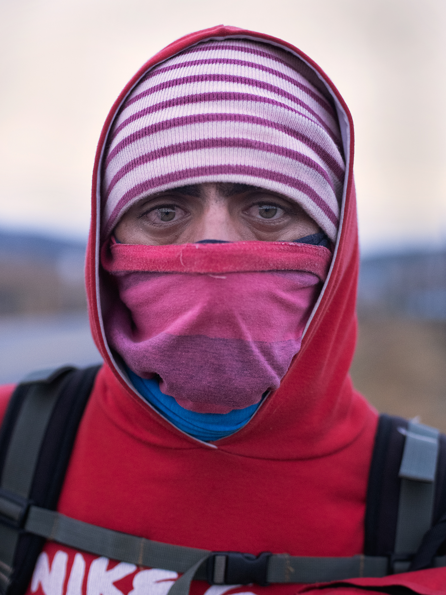 José Arias had walked 3 days to reach the Berlín highland, the highest and coldest point in the migrant route out of Venezuela.