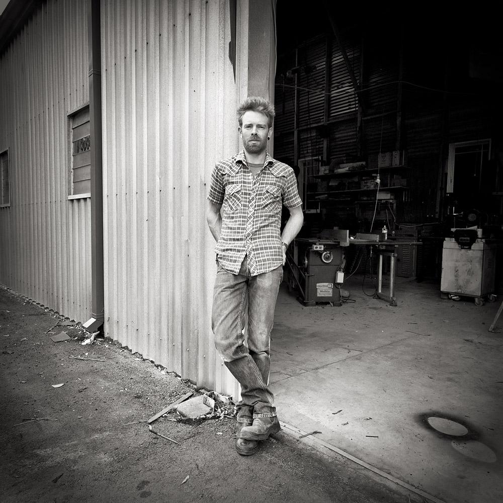 Michael Hoffman  michaelhoffman.net.au  Fine art works in timber. Cascade Artist Studios, Lawson