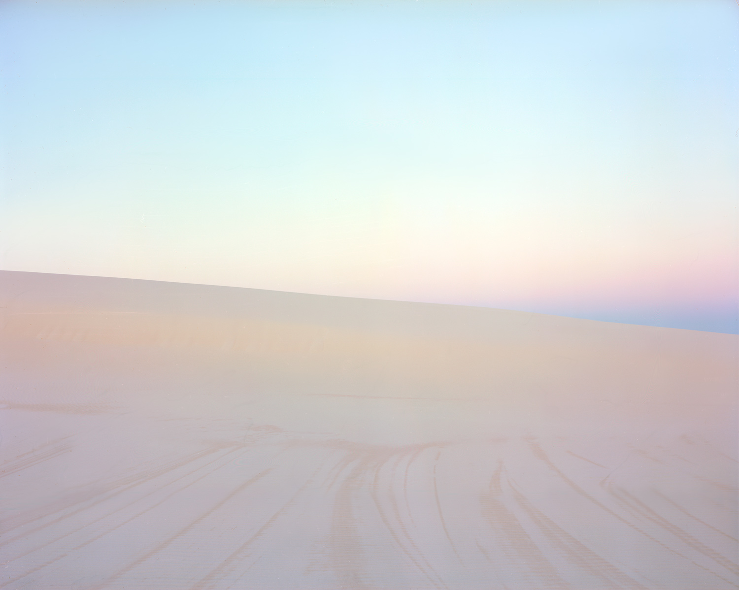Water-wind Lines in First Light [Dune #3], 2010