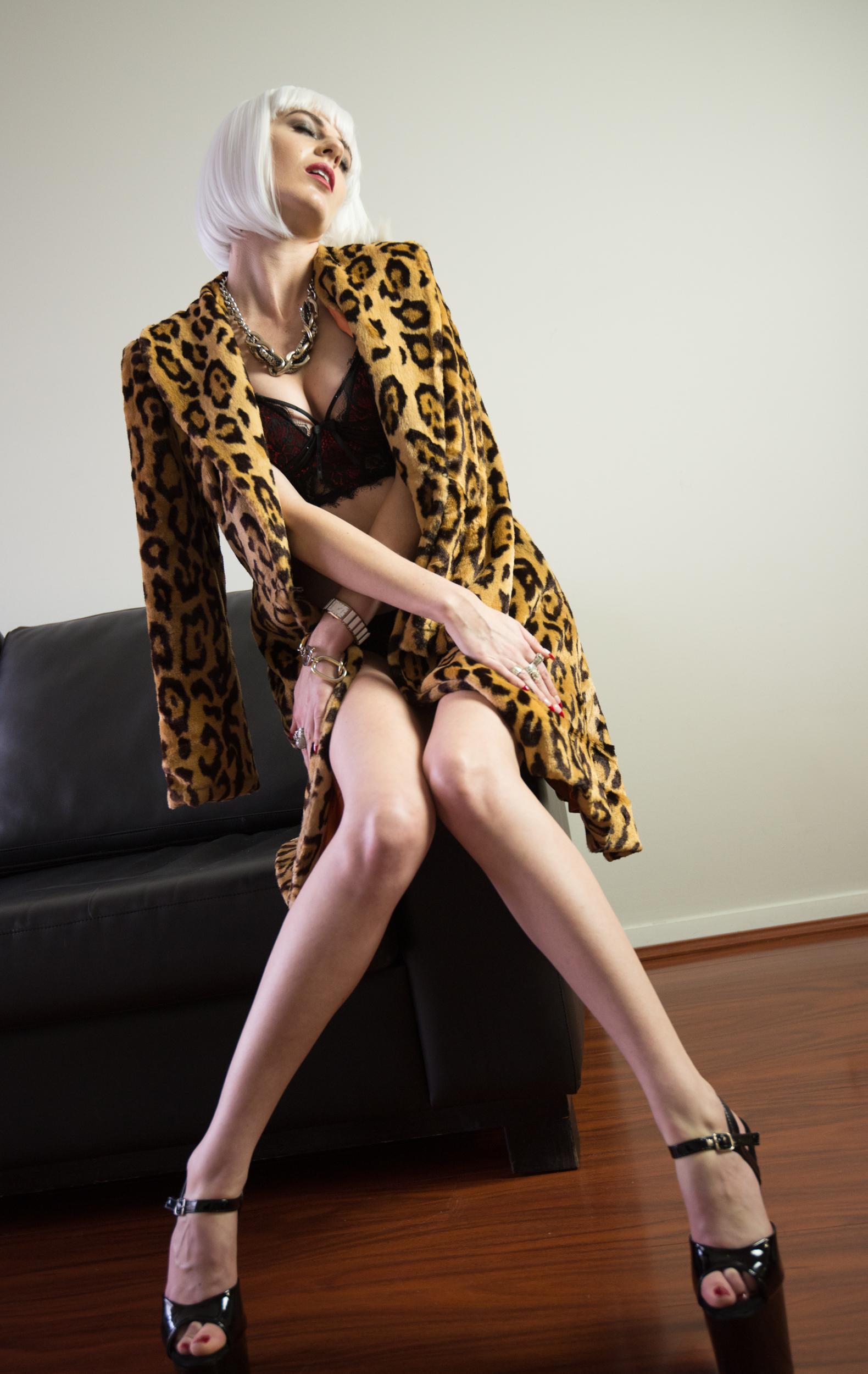 Model: Ivy Rose Raven  Hair and Makeup: Burton Yuen  Styling:  Gian Designs