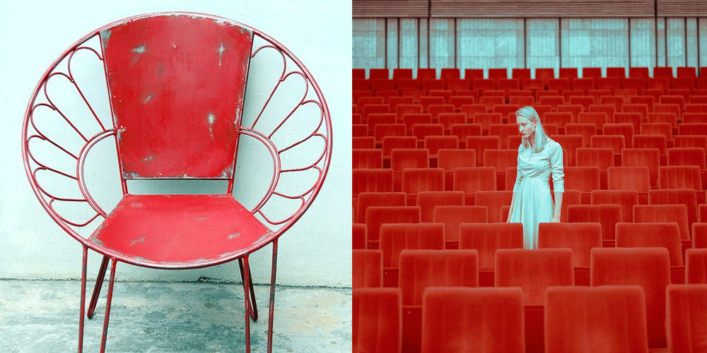 Left:  Like That One ; Right:  Maria Svarbova