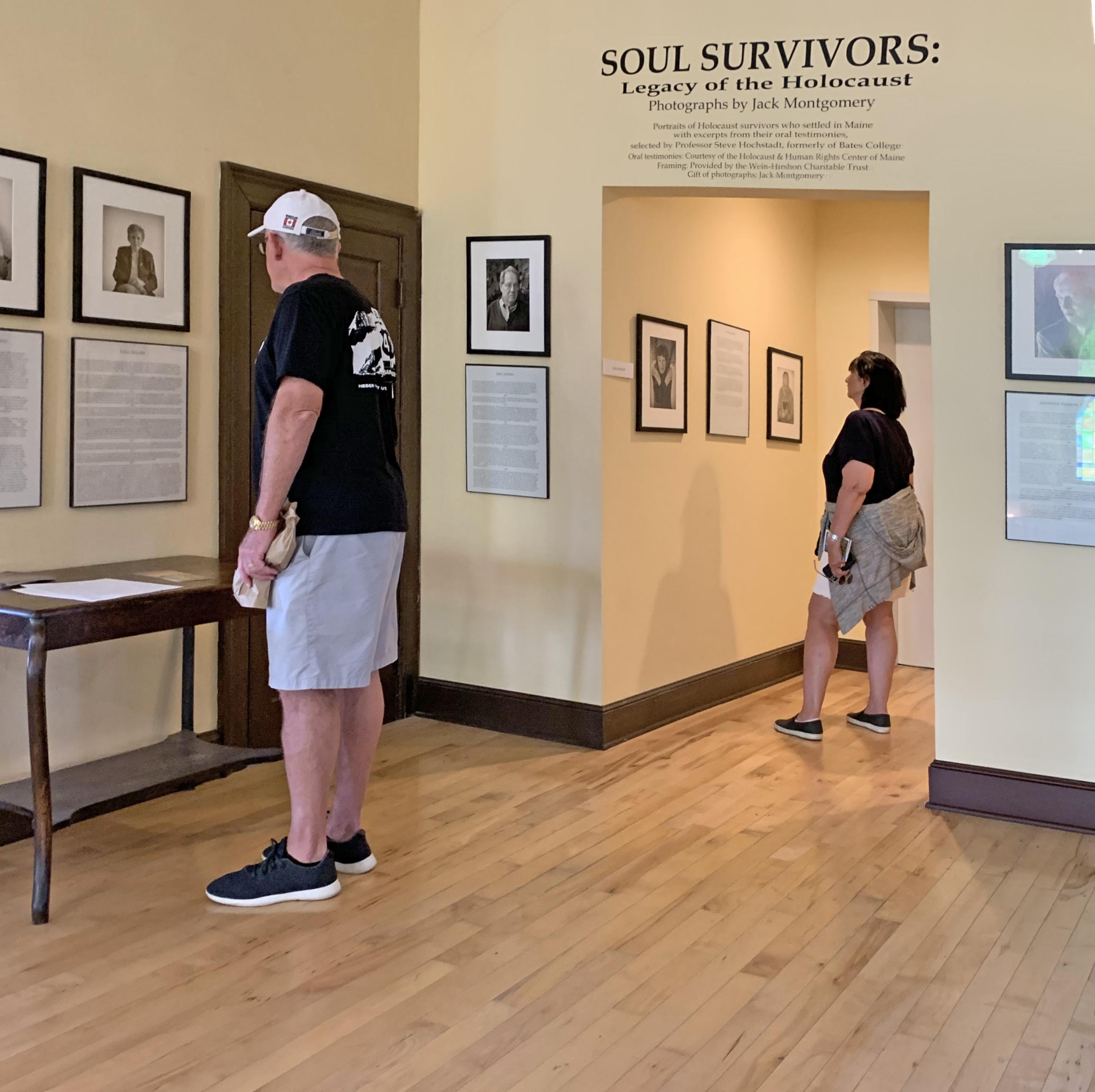 Maine's Soul Survivors, on permanent exhibit at the Maine Jewish Museum (Portland)