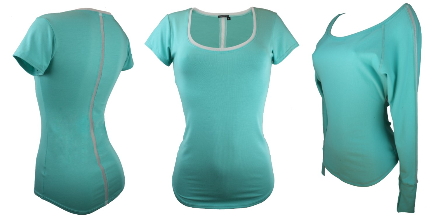 Classic T & Pullover in Spring Mint