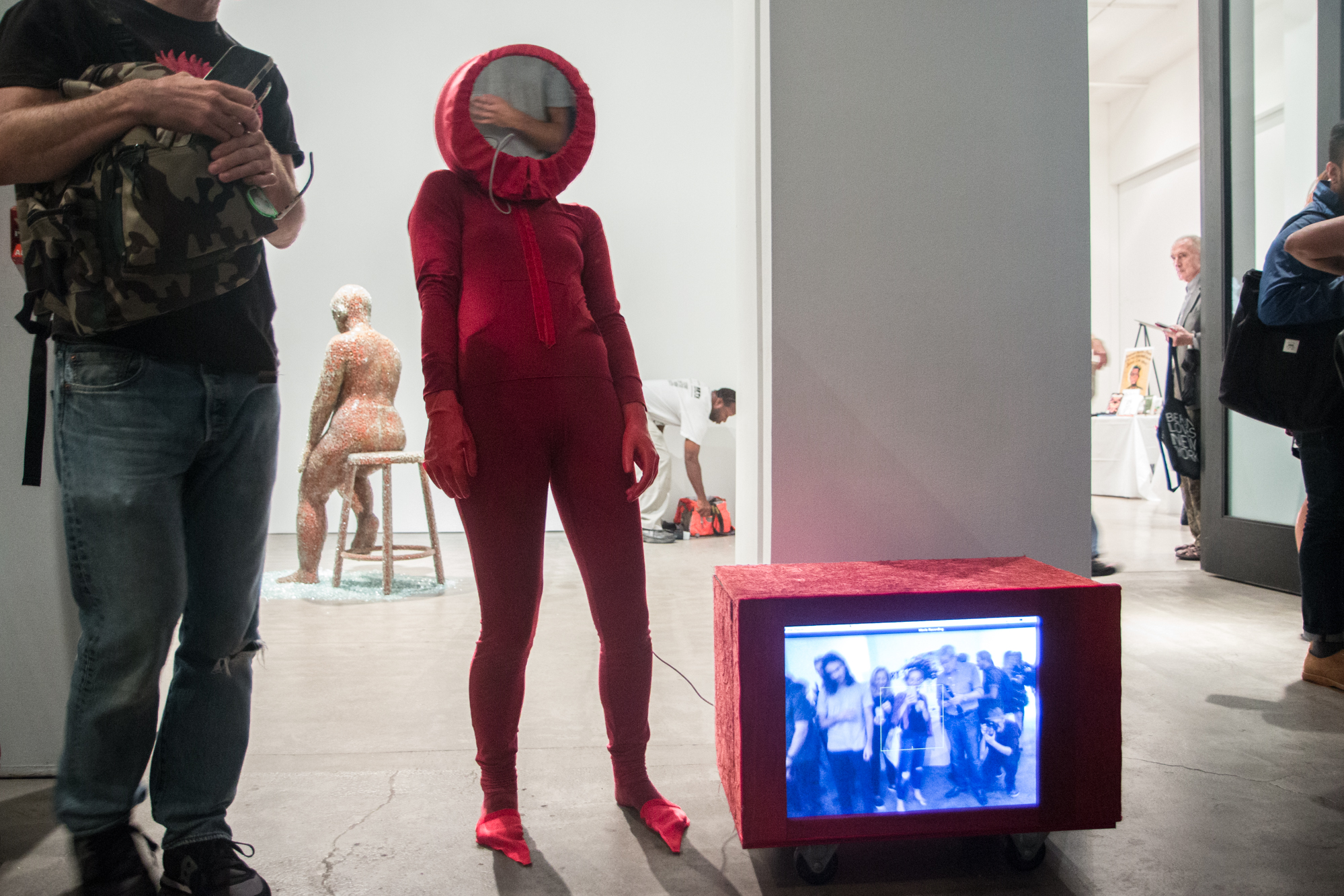 Performance premiere at Robert Miller Gallery