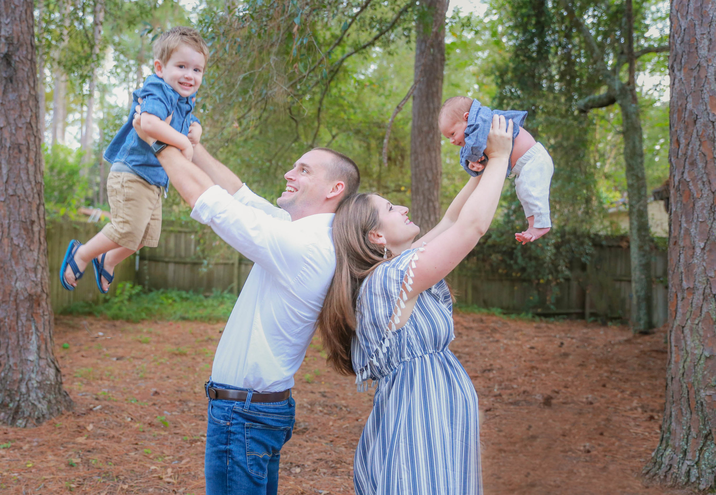Gainesville Newborn Family Photography