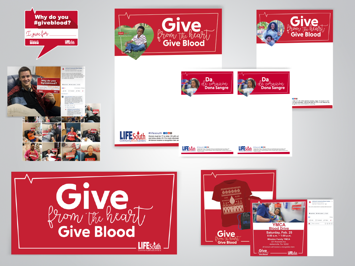 Give from the Heart Campaign | LifeSouth Community Blood Center