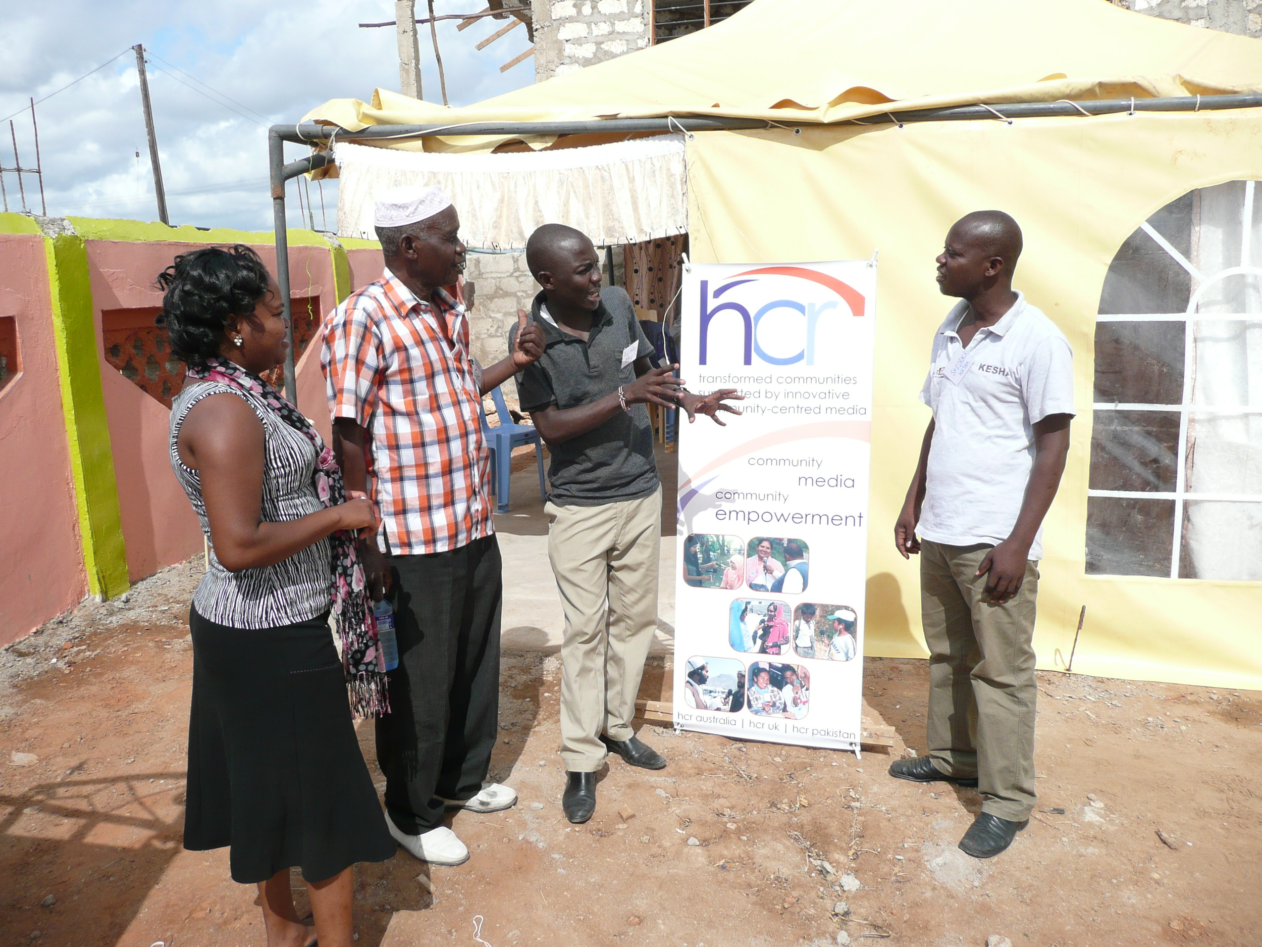 Community members from Tana River County in Kenya are eager to be involved in a community-centred media strategy for peace-building and addressing social issues.