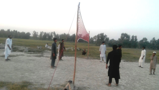 "A ""New Dawn"" for volleyball in a village in KPK Province, Pakistan"