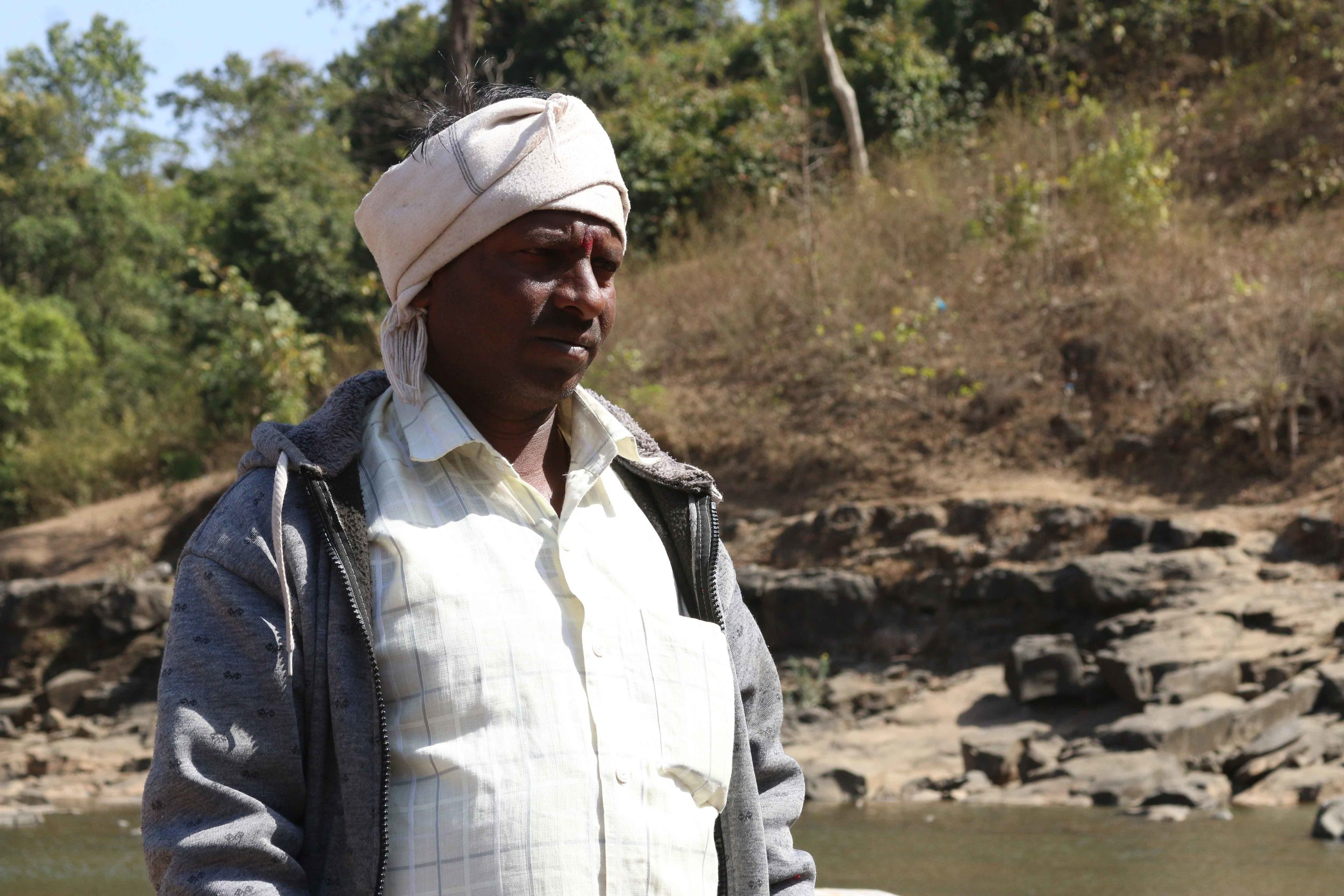 Patil Ramdas is concerned for his community.