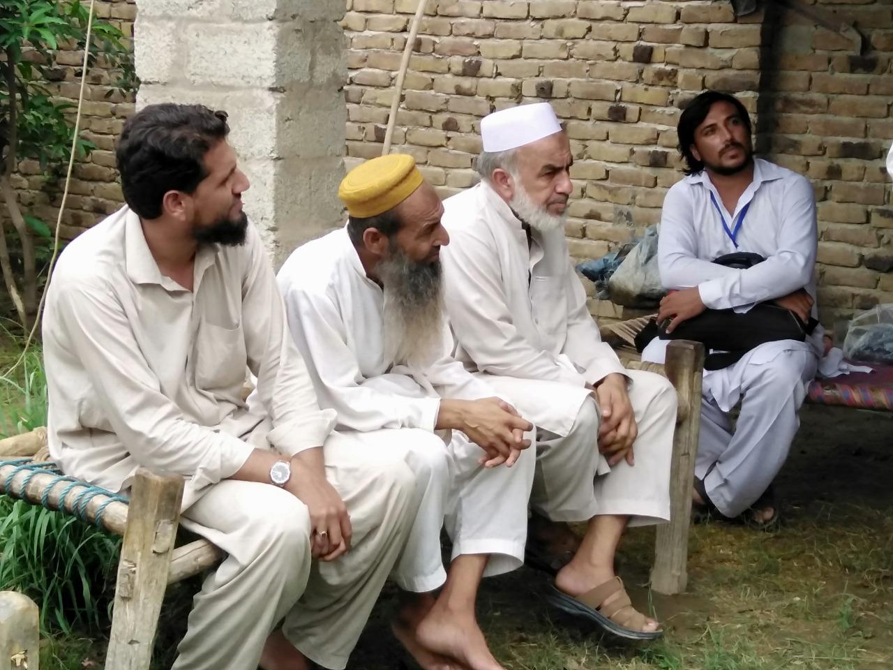 Community meeting in Sunda Sar ,Aug 2019, HCR 2019