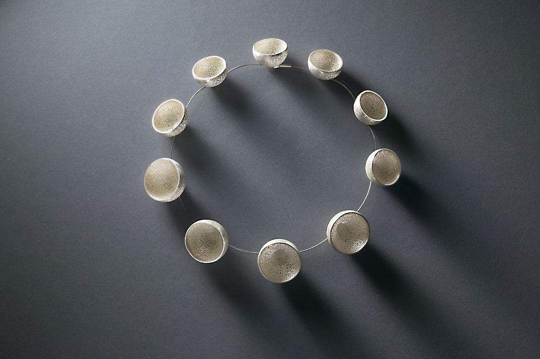 Silver Cup Necklace