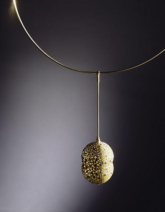 Gold Capsule Pendant