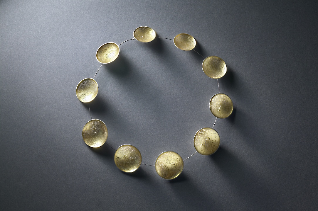Gold Cup Necklace
