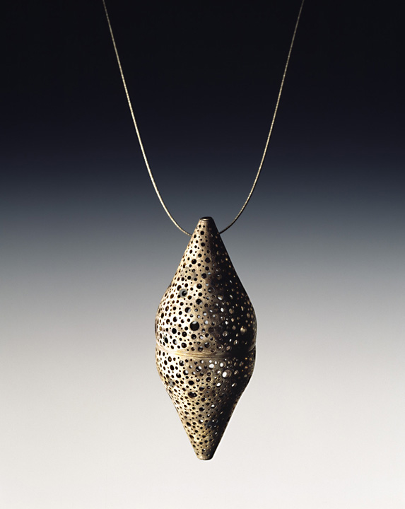 Perforated Capsule Pendant