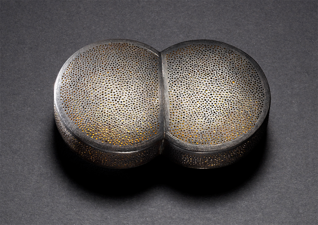 Double Dome Brooch