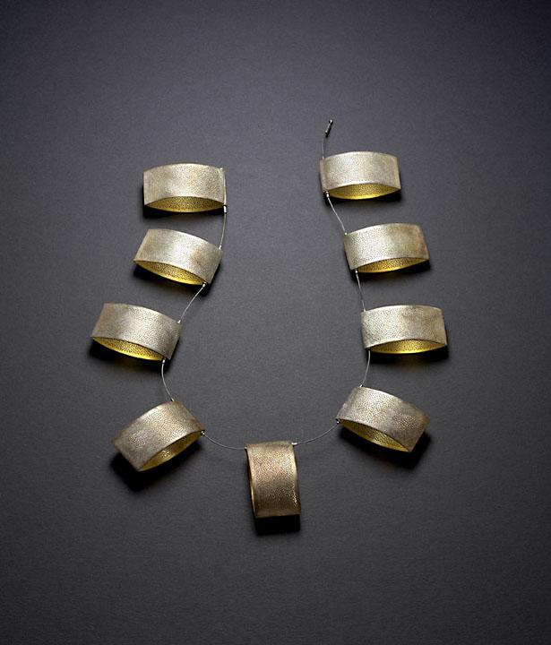 Nine Shield Necklace