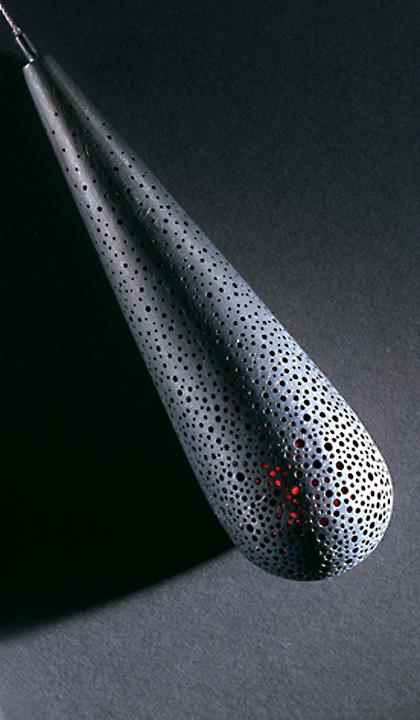 Ruby Tear Pendant (Detail)