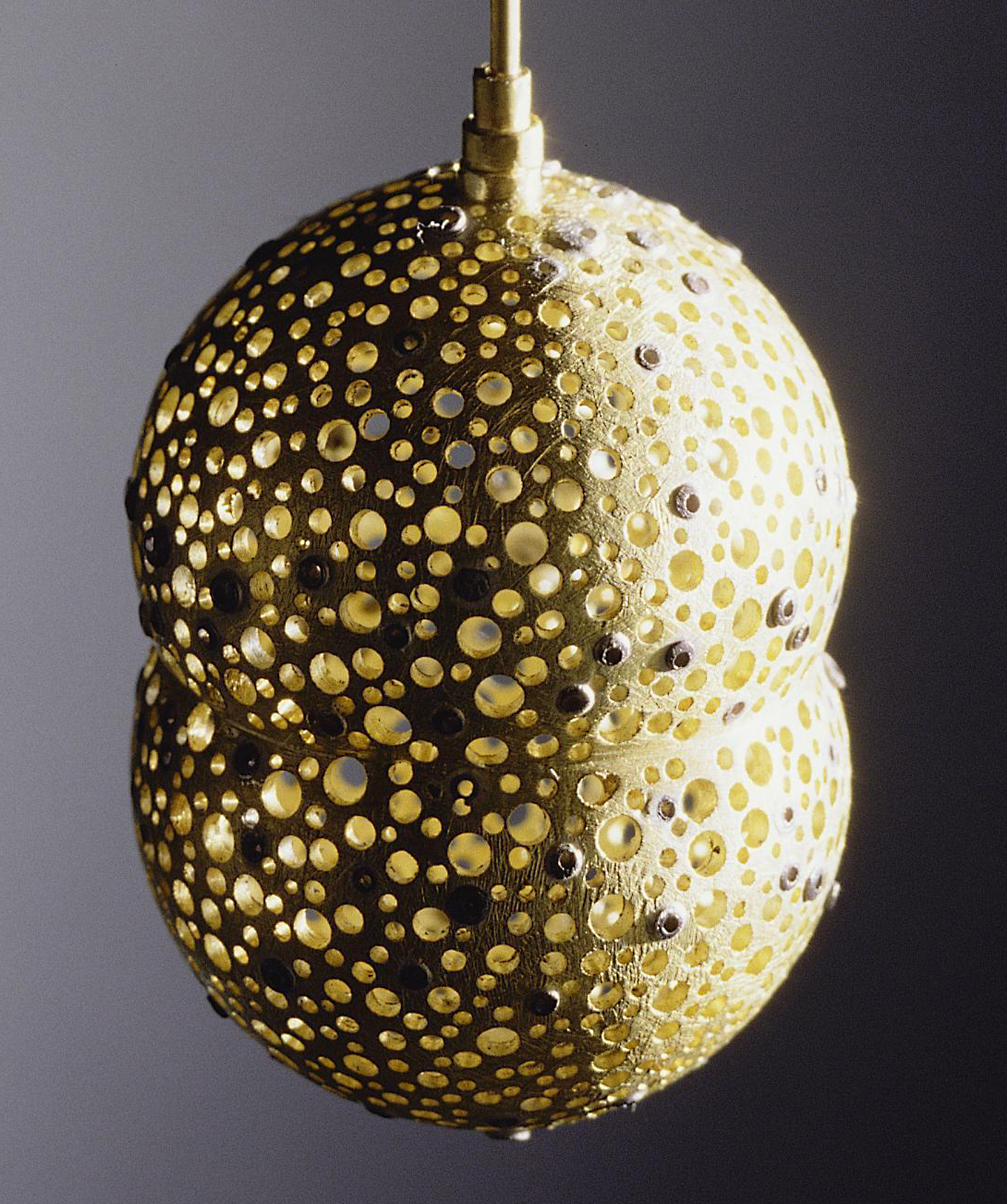 Gold Capsule Pendant (Detail)