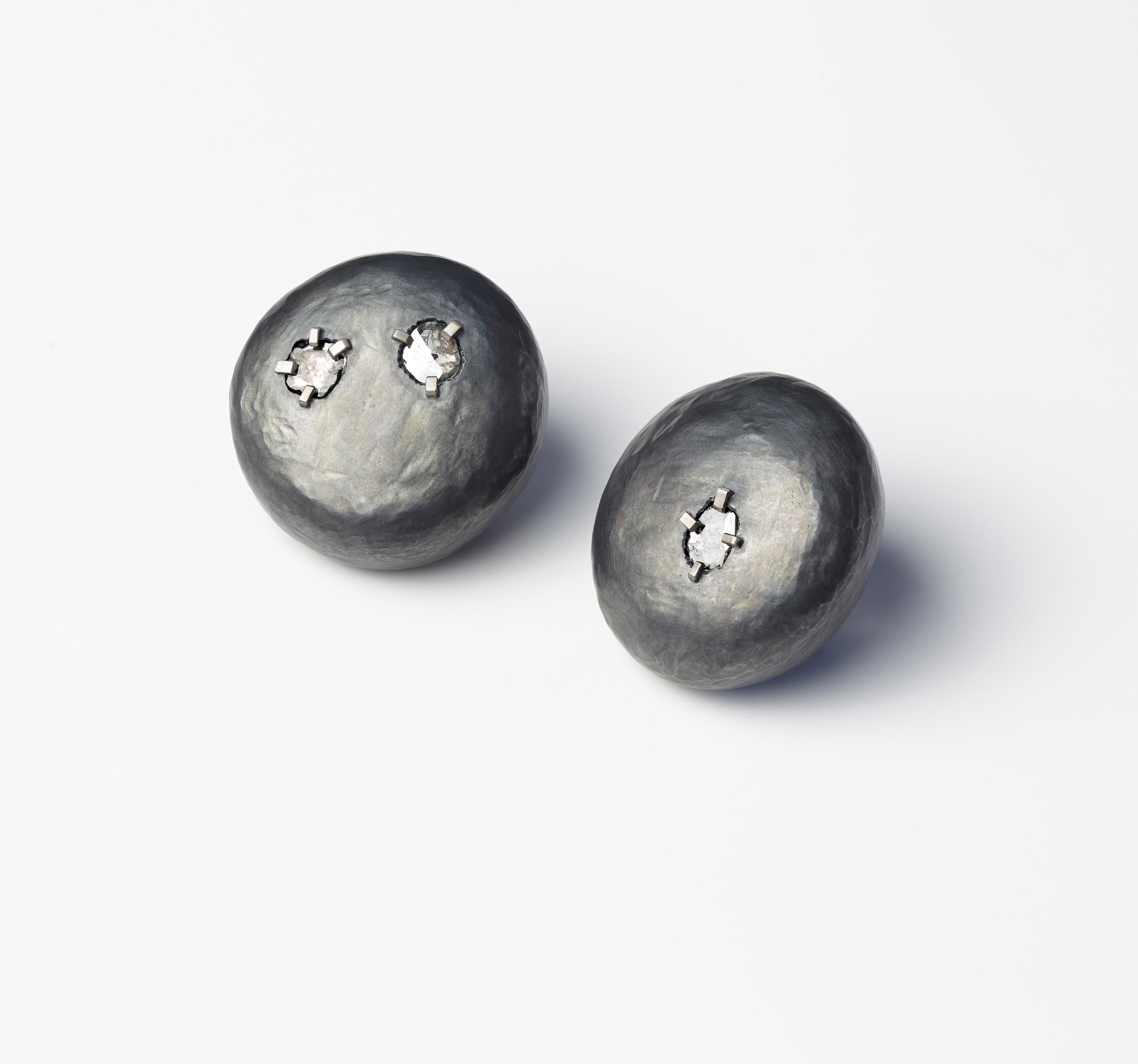 Diamond Rock Earrings