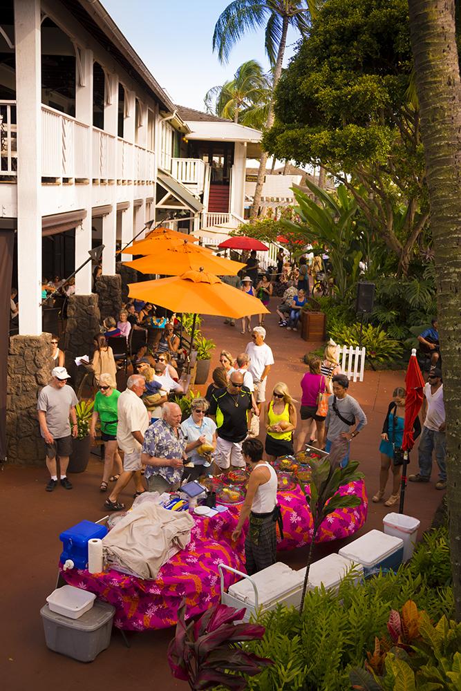A Kauai farmer's market
