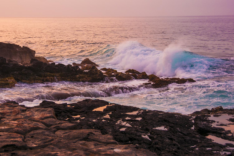 Poipu Beach at sunrise, Kauai