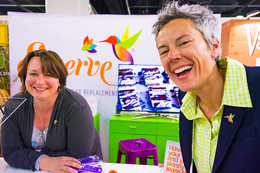 One of the best things about attending the Natural Products Expo was getting questions answered by very knowledgable and friendly people, like the executives from Swerve Sweetener. For us, the Expo was a chance to learn and discover better ways to eat and lead healthy lifestyles.