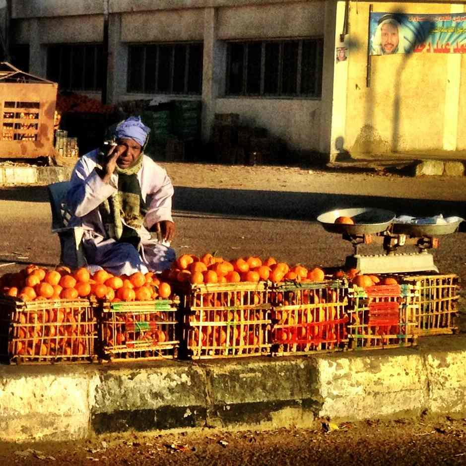 The Oranges Seller