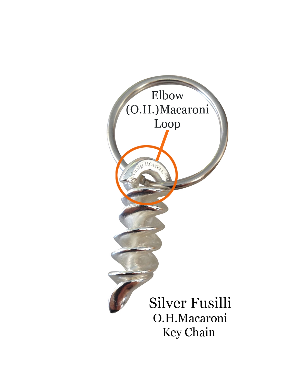 Key Chain Silver Fusilli w orange.jpg