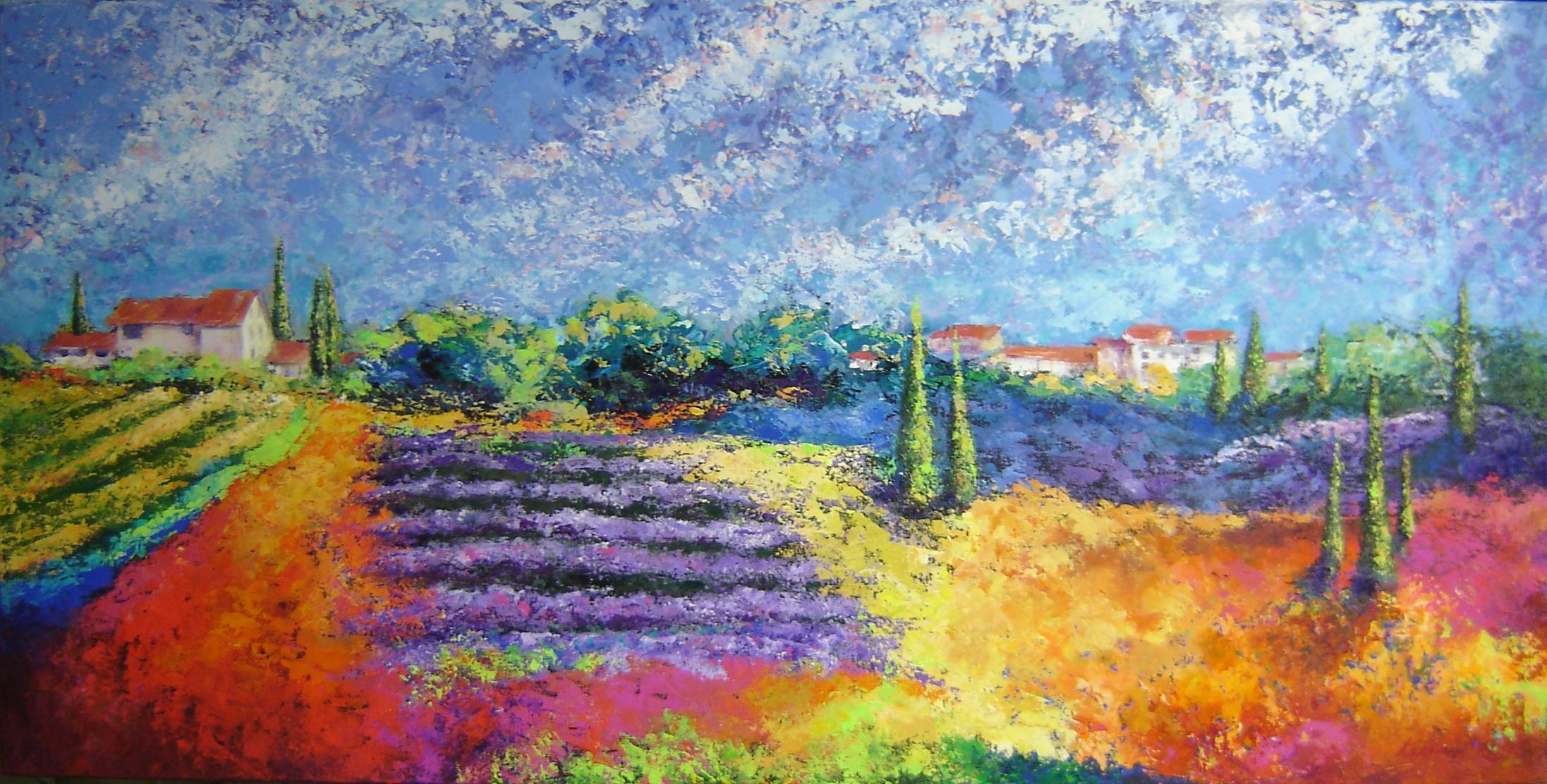 Tuscan Flower Fields