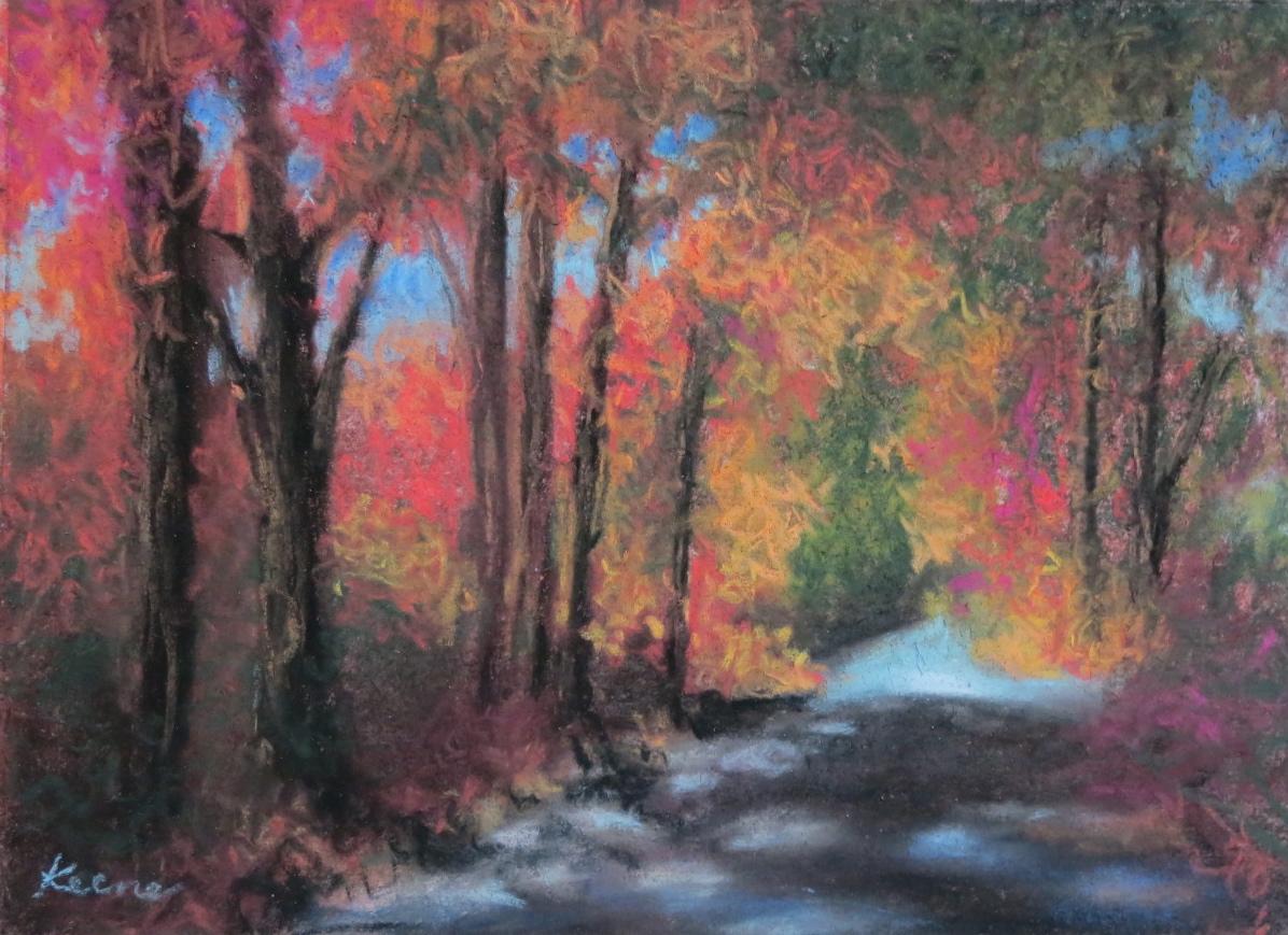 Dappled Road