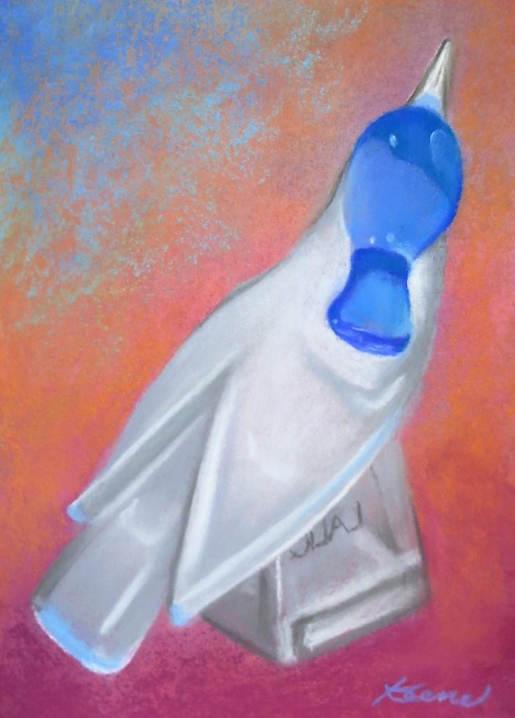 Lalique Blue Jay