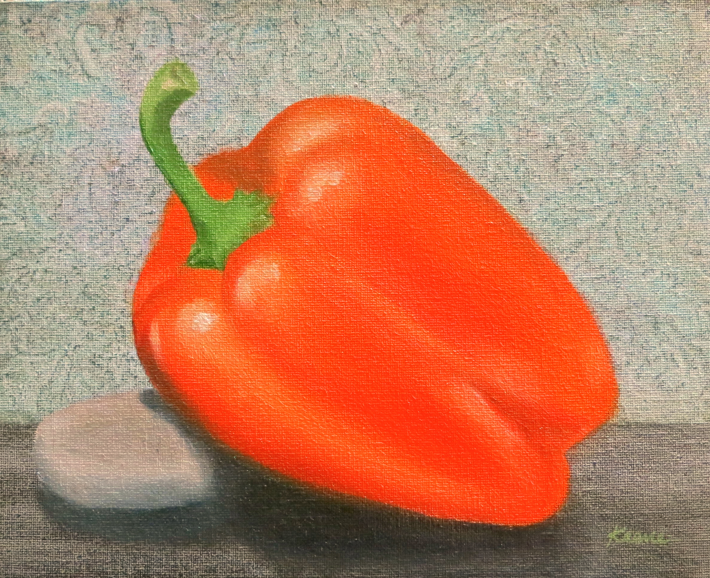 Properly Propped Pepper