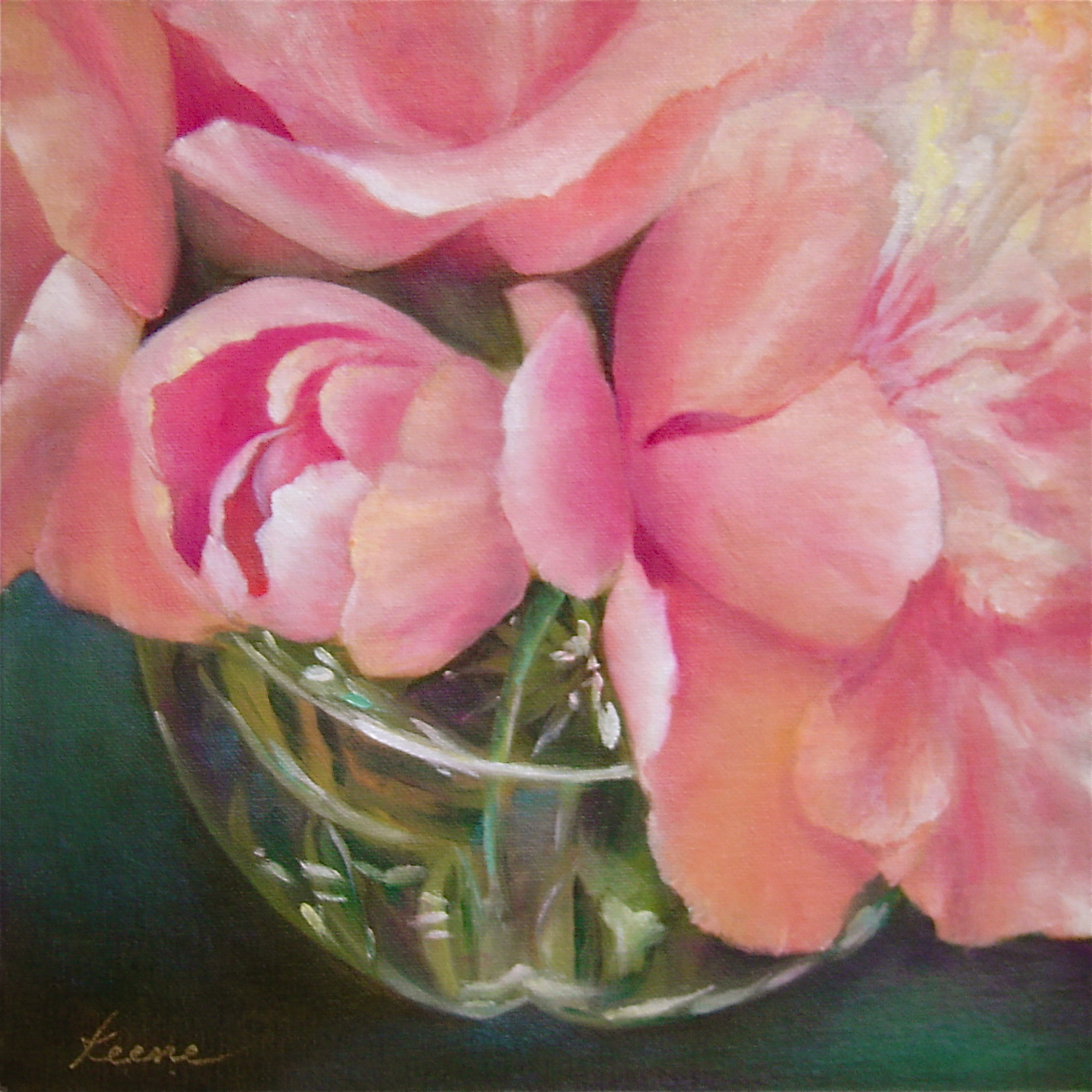 Peonies in Water