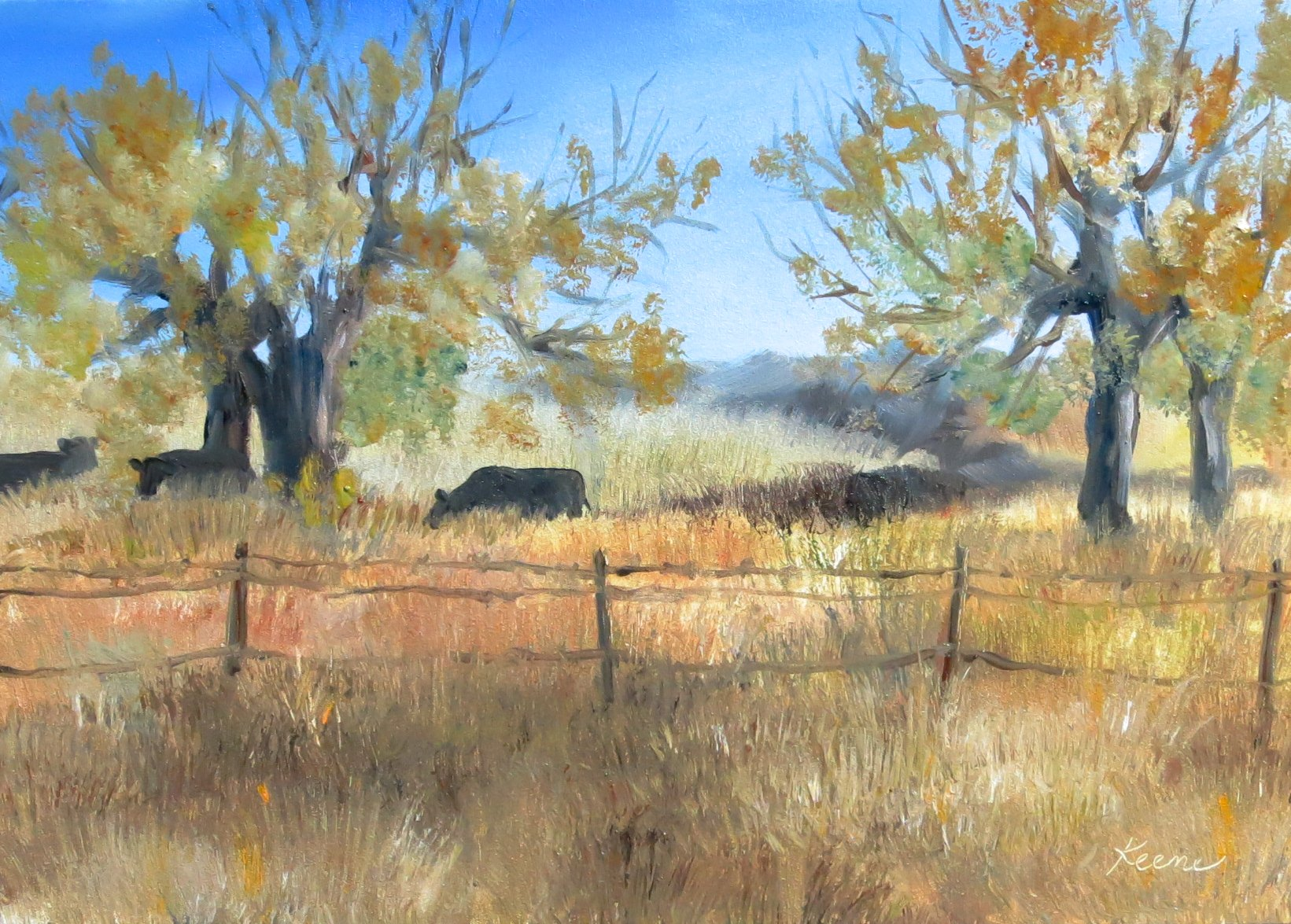 Cattle-scape