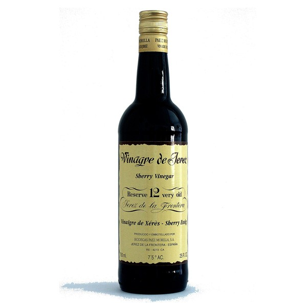 """Production Method   Through our traditional aging process in oak barrels, known as """"Solera System"""", selected quantities of our standard vinegars have developed into this reserver vinegar of unique characteristics.  Because of its outstanding flavour and aroma, only few drops are necessary to improve all kind of saladas and sauces."""